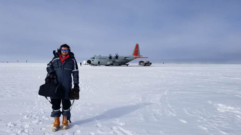 In Frigid Greenland, Engineering Student Helps Understand Climate